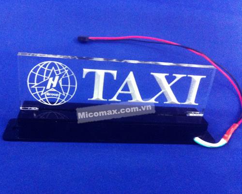 hộp chụp mica taxi