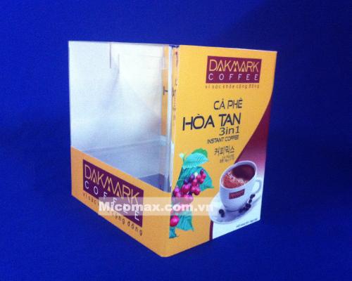 hộp mica đựng cafe